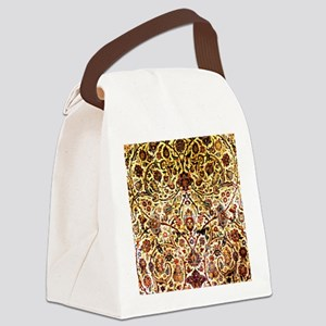 Persian silk carpet 2 v Canvas Lunch Bag